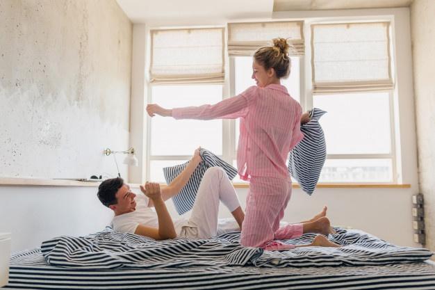 Matching Valentines pajamas
